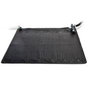 Intex Tapis solaire chauffant PVC 1,2x1,2 m Noir 28685