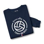 Sweatshirt mixte France volley Yavbou ball