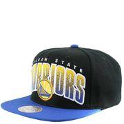 Golden State Warriors Homme Snapback Basketball Noir Mitchell & Ness