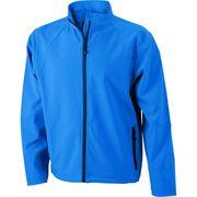 Veste softshell coupe-vent imperméable homme JN1020 - bleu azur