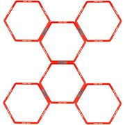 BALLON SUISSE - GYM BALL - SWISS BALL  Grille d'agilité hexagonale 6 pieces