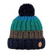 BARTS-Bonnet à pompon bleu marine vert garçon du 3 au 16 ans Barts