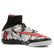 Hypervenomx Proximo IC Homme Chaussures Futsal Noir Blanc Nike