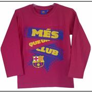 Tee shirt manches longues FCB Barcelone Club Taille de 3 é 8 ans - 4 ans rouge