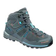 Chaussures de marche Mammut Alnasca Pro Mid GTX gris bleu femme