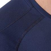 Asics Short Sleeved Mens Running T-Shirt Tee Indigo Blue - M