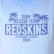 Tee Shirt Redskins Junior Stanford Jersey Bleu