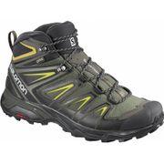 Salomon - X Ultra 3 mid GTX® Hommes chaussures de randonnée (vert foncé)