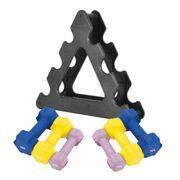 Gorilla Sports - Paire d'Haltères Fitness en néoprène - 8 paires disponibles - 2 x 0.5 kg à 2 x 5 kg