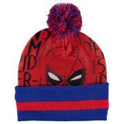 Ensemble Vêtements Marvel 3 pièces Enfant Spiderman Bonnet Echarpe et Gants