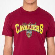T-Shirt NBA Cleveland Cavaliers New Era Team Apparel Pour Hommes taille - L