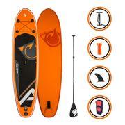 Pack Stand up Paddle CRUISER 10'2 (310cm) 30'' (76cm) 5'' (12,7cm) - SUP avec dérive centale et support caméra, livré avec pompe, Pagaie et Sac de transport