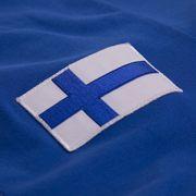 Finland 1955 Long Sleeve Retro Maillot 100% cotton