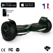 EVERCROSS Hoverboard Bluetooth 8.5 pouces,  Gyropode Overboard avec Fontion Application, SUV Hummer Tout Terrain, Vert foncé