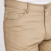 Chino Short en Coton 5 Poches