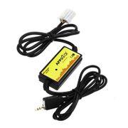 Chargeur allume cigare-Interface De Voiture Audio Mp3 Usb Câble De Données Connecter Le Changeur De Cd Pour Mazda