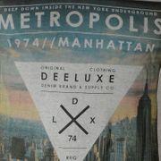 Tee Shirt Deeluxe Metropolis Charcoal S151225