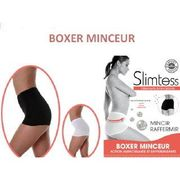 BOXER MINCEUR SILHOUETTE MICRO-ENCAPSULE S Blanc
