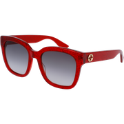 Gucci 0034/S Rouge Gris Dégradé