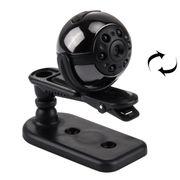 Mini caméscopes-360 degrés rotation Full HD 1080 P Mini DV caméra vidéo numérique PC Sport Action caméra caméscope avec support et Clip, soutien TF carte et TV OUT Connection