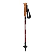 Bâtons Komperdell Highlander Cork noir rouge (paire)