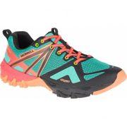 Merrell - MQM Flex GTX Femmes chaussures de randonnée (vert/Orange)