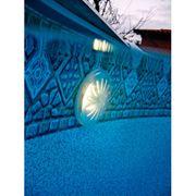 Gre Lampe LED magnétique pour piscine hors sol 2 pcs Blanc