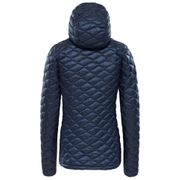 Doudoune The North Face ThermoBall Pro Hoodie bleu foncé femme