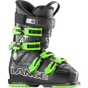 Chaussures De Ski Lange Rx 80 Wide S.c. Black-green Enfant