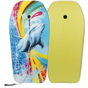 Waimea Planche de surf Imprimé avec dauphin Jaune 52WU-GEE-Uni
