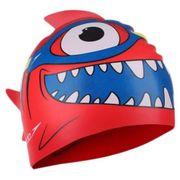 Bonnet de natation Speedo Sea Squad Character rouge bleu enfant