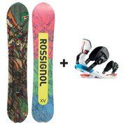 Pack Snowboard Xv Magtek Wide + Xv M/l Vert Rossignol Homme