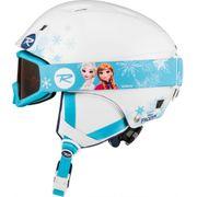 Helmet Rossignol Comp J Frozen Blanc
