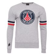 MBappé Sweat gris Homme PSG x Justice League