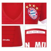 2017-2017 Bayern Munich Adidas Home Womens Shirt