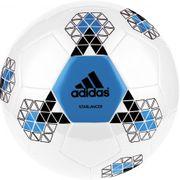 Ballon de football Starlancer adidas blanc et bleu