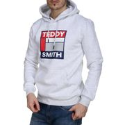 Sweat Teddy Smith Sacot Hoody 10813803d 267 White Melange