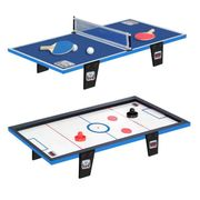 KIT TENNIS DE TABLE - PACK TENNIS DE TABLE - ENSEMBLE TENNIS DE TABLE CDTS Table de ping-pong + Table de hockey - 81 x 40 cm