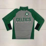 Veste Manche longue 1/4 Zip NBA Boston Celtics Shooter Gris pour enfant Taille - L (155-165cm)