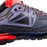 Chaussures Salomon X Alp Spry GTX lilas foncé rouge femme