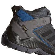 Chaussures de marche adidas Terrex Entry Hiker MID GTX gris foncé bleu