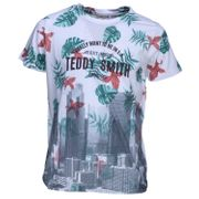 Tee Shirt Garà§on Teddy Smith Tubler Mc 61005427d 202 Blanc