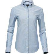 Chemise femme Oxford - 4001 - bleu clair - manches longues