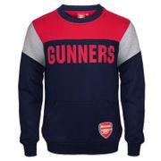 Arsenal FC officiel - Pull thème football - motif blason - garçon