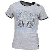 Tee Shirt Garçon Teddy Smith Tasque Mc 61005904d 149 Gris Chine