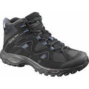 Salomon - Meadow Mid GTX W Femmes chaussures de randonnée (gris/pourpre)