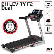 Tapis de course 18 km/h. Inclinaison électrique 12%. Levity F2 Dual + Dual Kit  WG6416URF