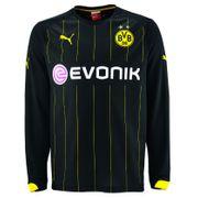 2014-2015 Borussia Dortmund Away Long Sleeve Puma Shirt