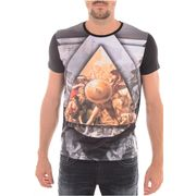 Tee Shirt Print Stretch Edison - Redskins