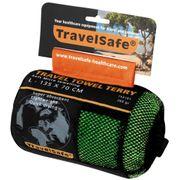 Camping et randonnée Joli Serviette-éponge microfibre Travelsafe TS3101 verte taille L